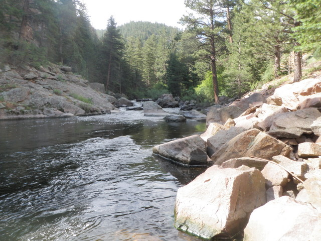 Upstream View at Start of Fishing Day