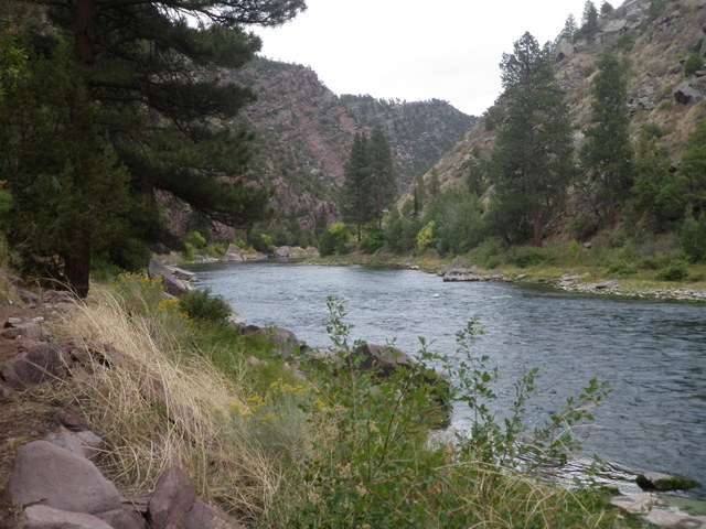 Typical Stretch of Green River
