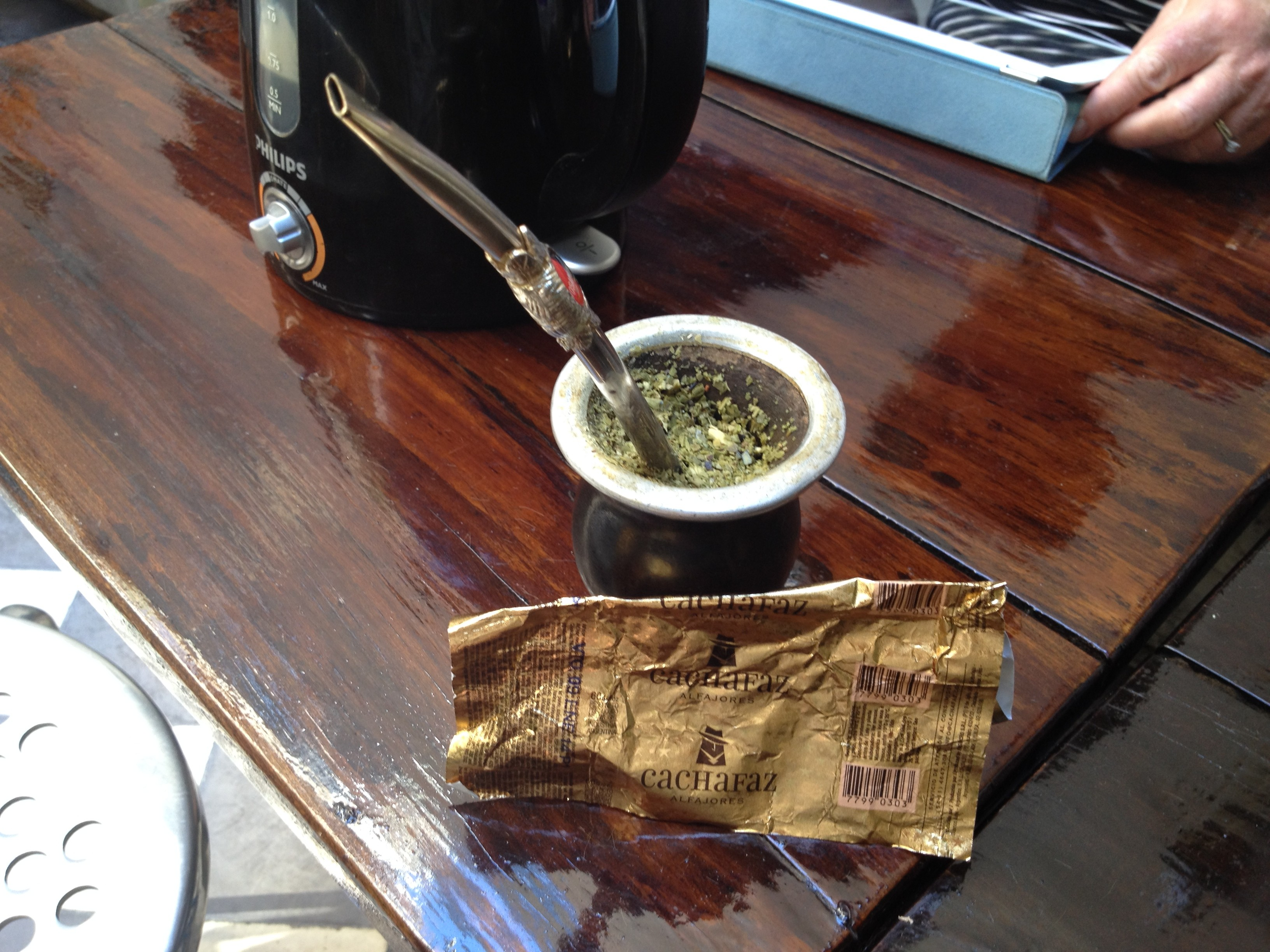 Alfajore Wrapper and Mate Mug