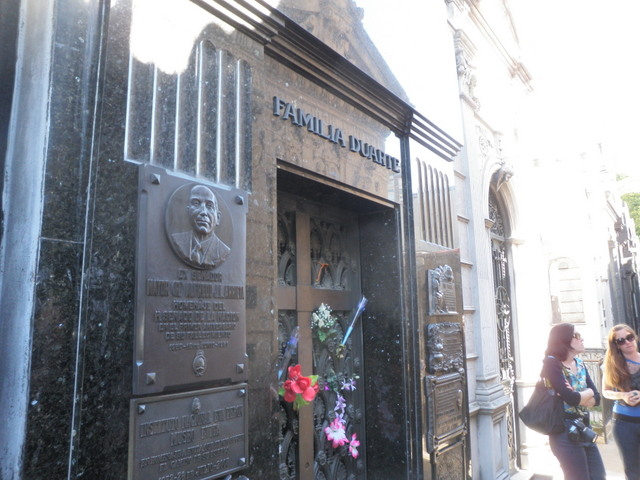 Grave of Eva Peron