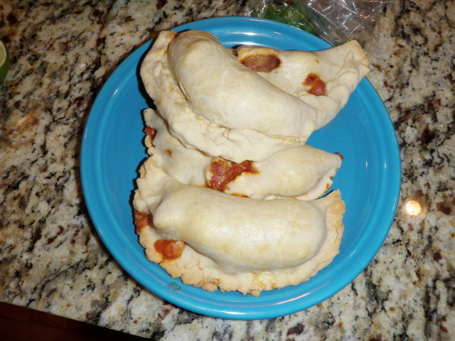 Finished Shrimp Empanadas