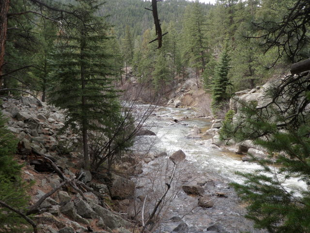 South Boulder Creek on Friday