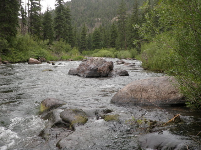 South Platte at 200 CFS